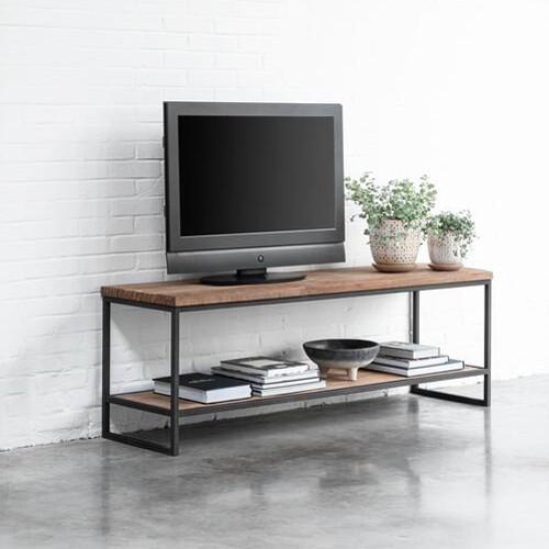 DTP HOME TV-Board 150 cm BEAM Teak Holz Lowboard