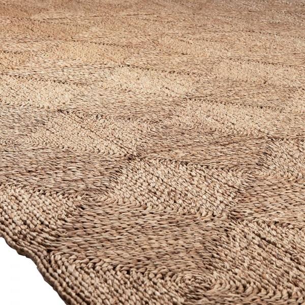 MUST LIVING Vintage Teppich Calypso 180 x 240 cm Carpet Seegras beige