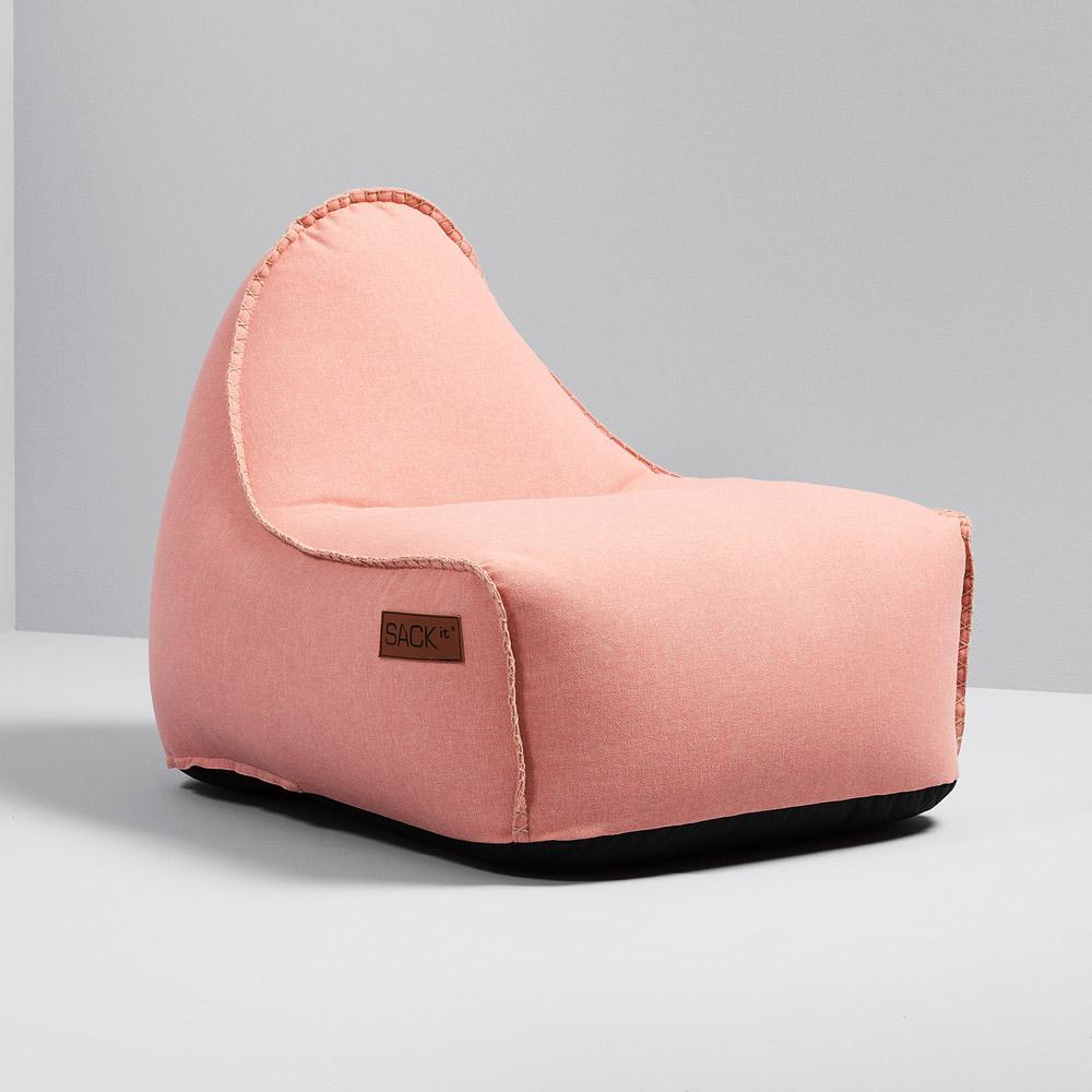 garten sitzsack cobana f r drinnen und drau en retro rose. Black Bedroom Furniture Sets. Home Design Ideas