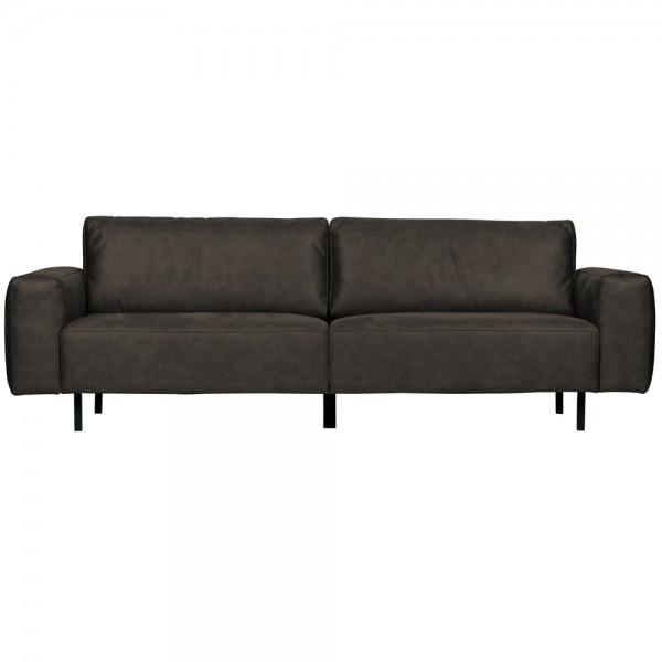 3 Sitzer Sofa Rebound 252 cm anthrazit Couch Garnitur Loungesofa Couchgarnitur
