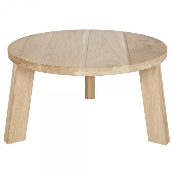 Landhaus Couchtisch OSLO Ø 60 cm Beistelltisch Anstelltisch Tisch Sofatisch Holz