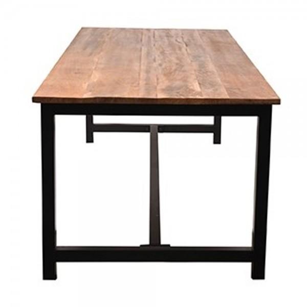 Esstisch Ghent 160 x 90 cm Mango Holz Massivholz