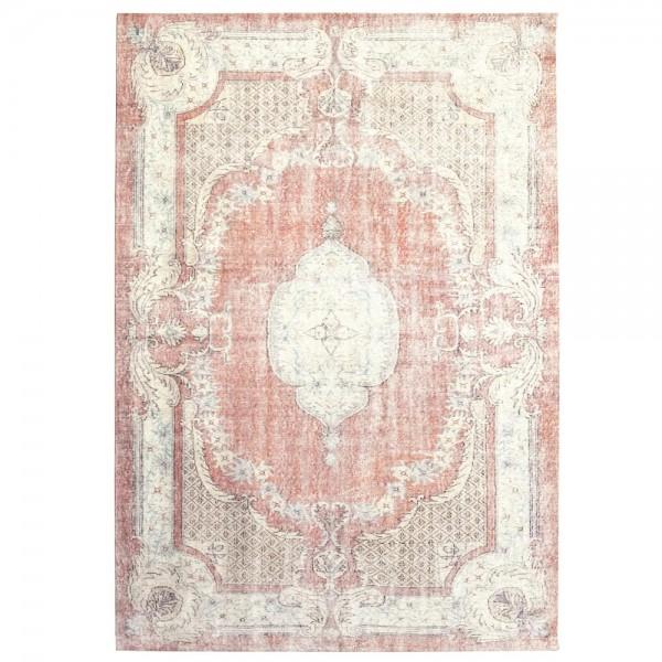 Vintage Teppich Mila 200 x 290 cm rot Oriental Persisch Muster Carpet klassisch orientalisch