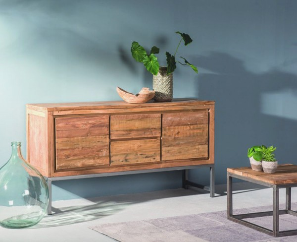Vintage Sideboard BOSTON 160 cm Teak Kommode