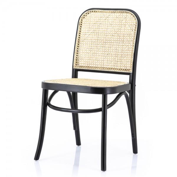 2er Set Esszimmerstuhl Pointe Geflecht Wabengeflecht Bambus Stuhl Küchenstuhl