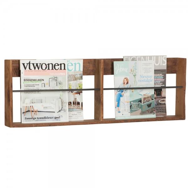 Zeitschriftenhalter Bookie 90 cm Zeitungsständer Magazinhalter Magazin Halter