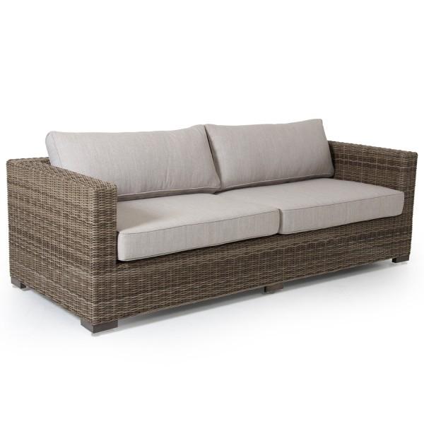 3-Sitzer Lounge Garten Sofa Ninja natural incl.Kissen