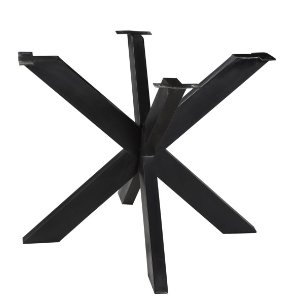 Tischbeine Spider Metall schwarz für runde Tischplatte 120 cm
