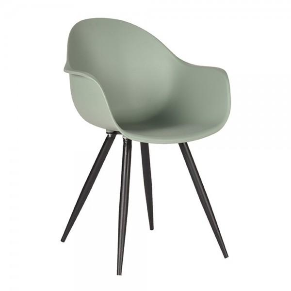 Schalenstuhl Luca waldgrün Armlehne Stuhl Esszimmerstuhl Esszimmer Armlehnstuhl Stühle