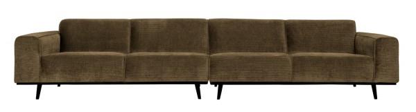 BePureHome XL 4 Sitzer Sofa Statement Rib Cord rock Couch