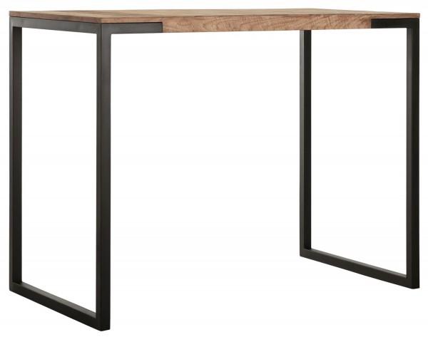 MUST Living Bartisch Elemental 140 x 80 x 110 cm Teak Holz Metall