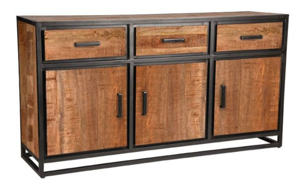 Sideboard Lempa 170 cm Mangoholz Metall