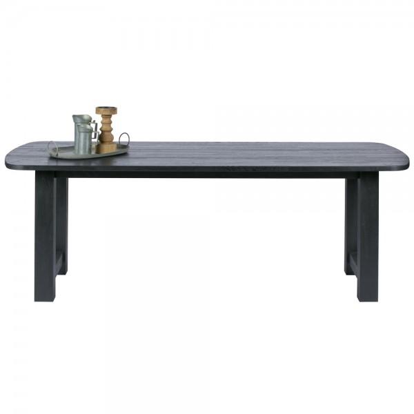 Esstisch IDENTITY Holztisch Dinnertisch Tisch Eiche schwarz Esszimmertisch