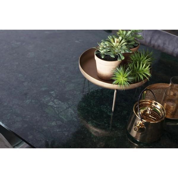 Esstisch Sandro 175 x 90 cm Tischplatte Marmor grün