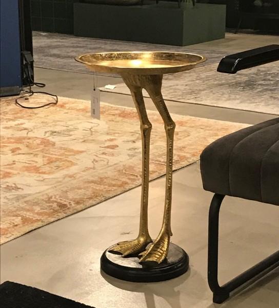 Beistelltisch Bolt H 60 cm Metall gold