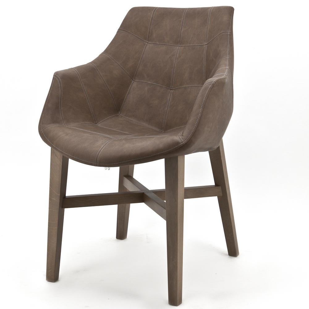 Sessel Neba Vintage Braun Stuhl Esszimmer Esszimmerstuhl Armlehne Polsterstuhl thrxBsQdC