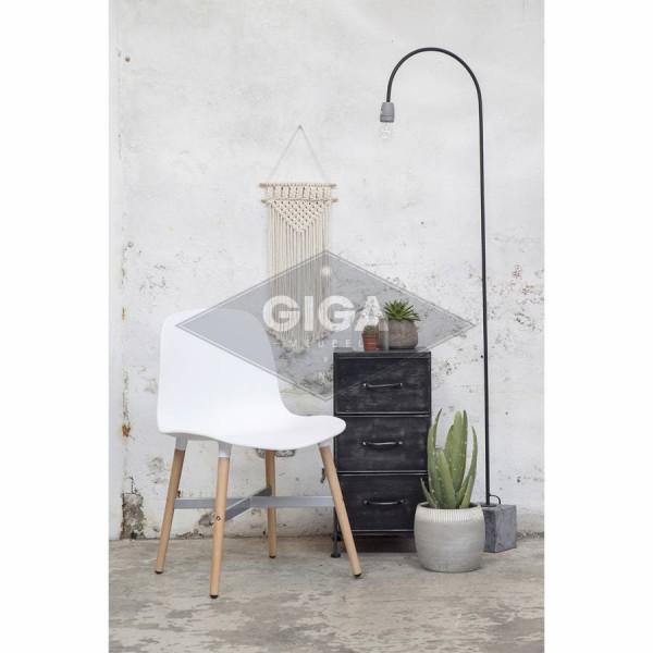 Esszimmerstuhl HAMMER weiß Schalenstuhl Kunststoff Stuhl Konferenzstuhl Küchenstuhl
