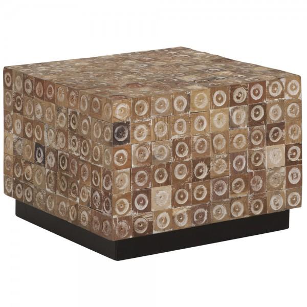 Couchtisch Chip Square 50 X 50 Cm Teakholz Tisch Holztisch
