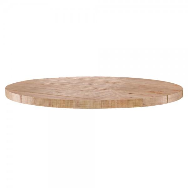 Tischplatte Tablo Mango rund Ø 120 cm