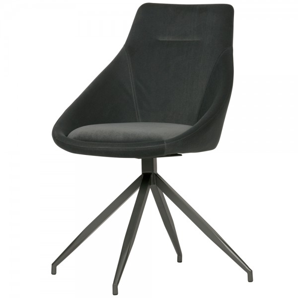 2er Set Esszimmerstuhl RESA Samt Vierfußstuhl Küchenstuhl Polsterstuhl Stuhl