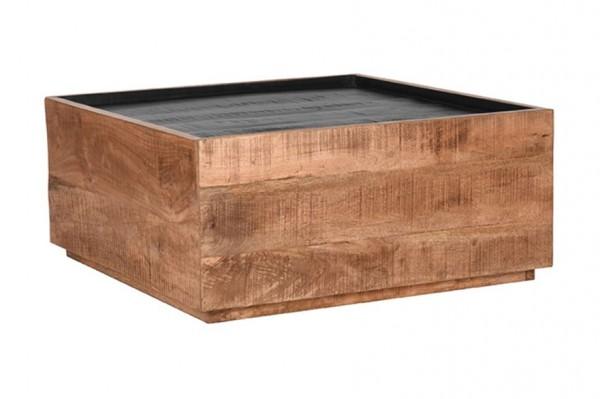 Couchtisch Quadro 80 x 80 cm Mango Holz