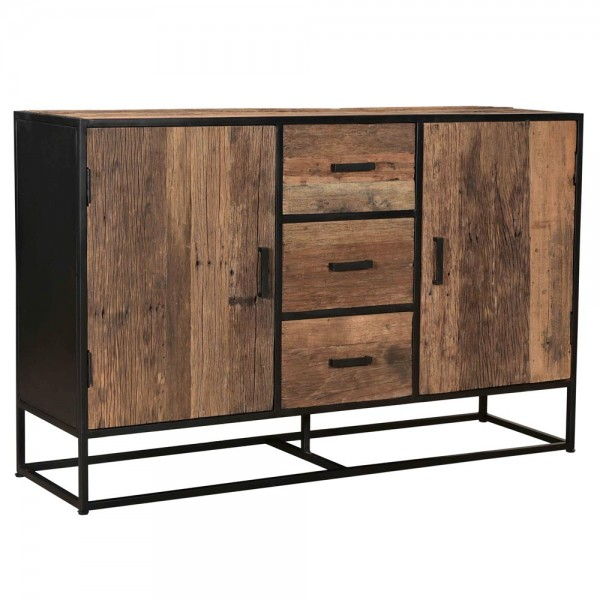Sideboard Dakota B 150 cm Schubladen Schrank Kommode Lowboard Riverwood Metall