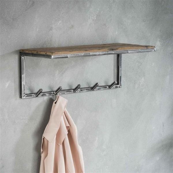 Garderobe mit Ablage Grained 70 cm Wandgarderobe