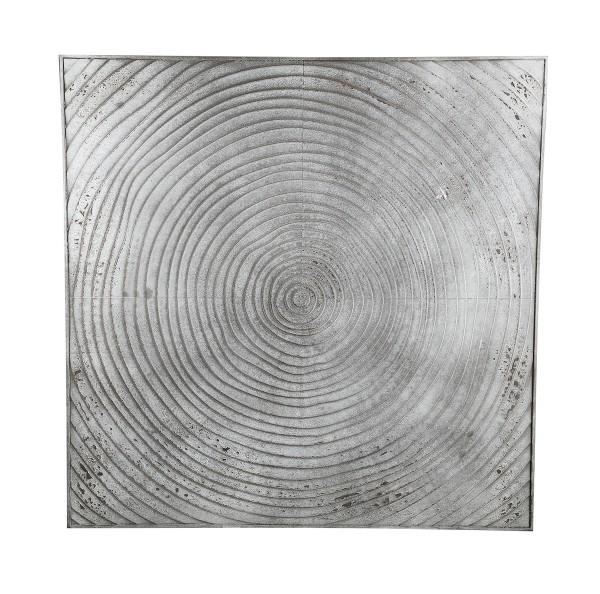 PTMD Wandbild DAMIEN 122 x 122 cm Holz Beton Optik
