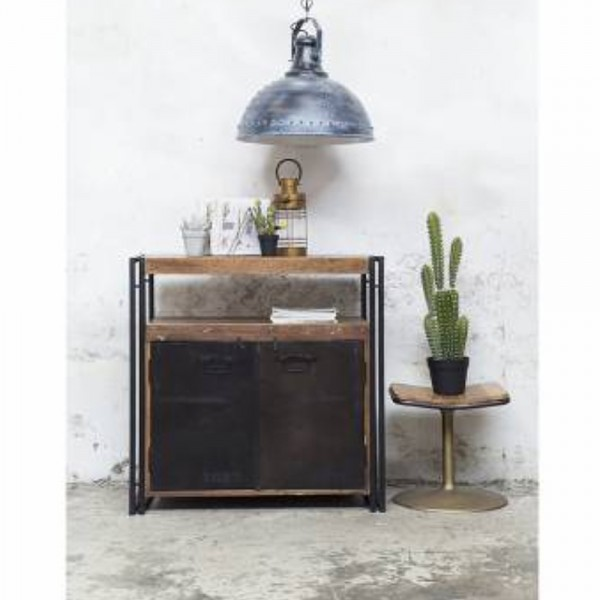 GIGA Industrie Kommode Sideboard Metall