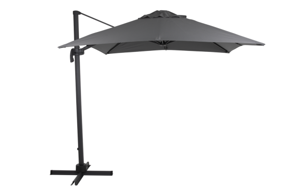Sonnenschirm Ampelschirm Linz Ø 250 cm anthrazit grau