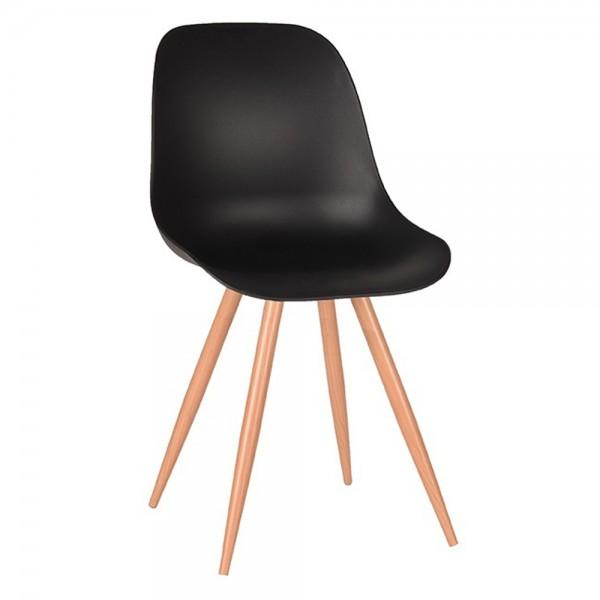 Schalenstuhl Rimini schwarz Esstisch Stuhl Esszimmerstuhl Esszimmer Dinnerstuhl Stühle