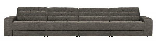 BePureHome 4 Sitzer Sofa Date vintage mausgrau Couch