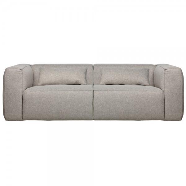 3,5 Sitzer Sofa Bean hellgrau