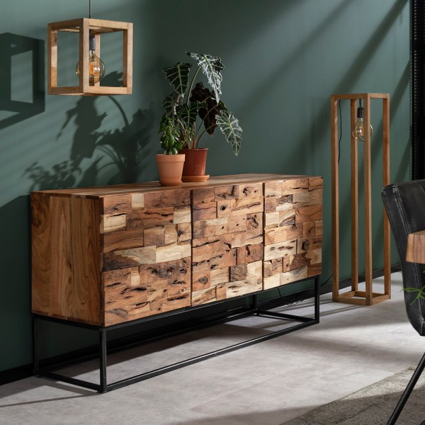 Sideboard Milla 160 cm Holz Schrank Kommode Lowboard