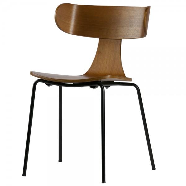 Stapelstuhl FORM Esche Stuhl stapelbar