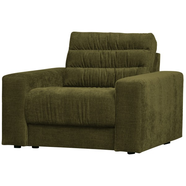 BePureHome Sessel Date vintage grün Loungesessel Clubsessel