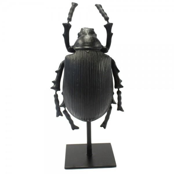 Tisch Deko Figur Abbey ONE Käfer Tischdeko Skulptur Standfigur Shabby schwarz