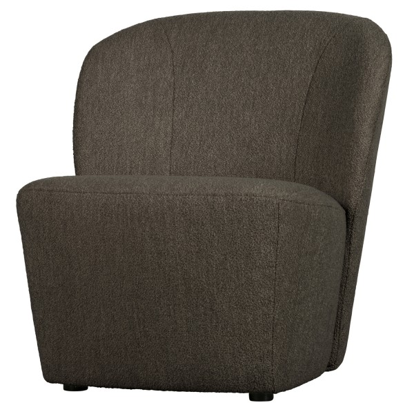 vtwonen Loveseat Sessel Lofty Bouclé braun Loungesessel
