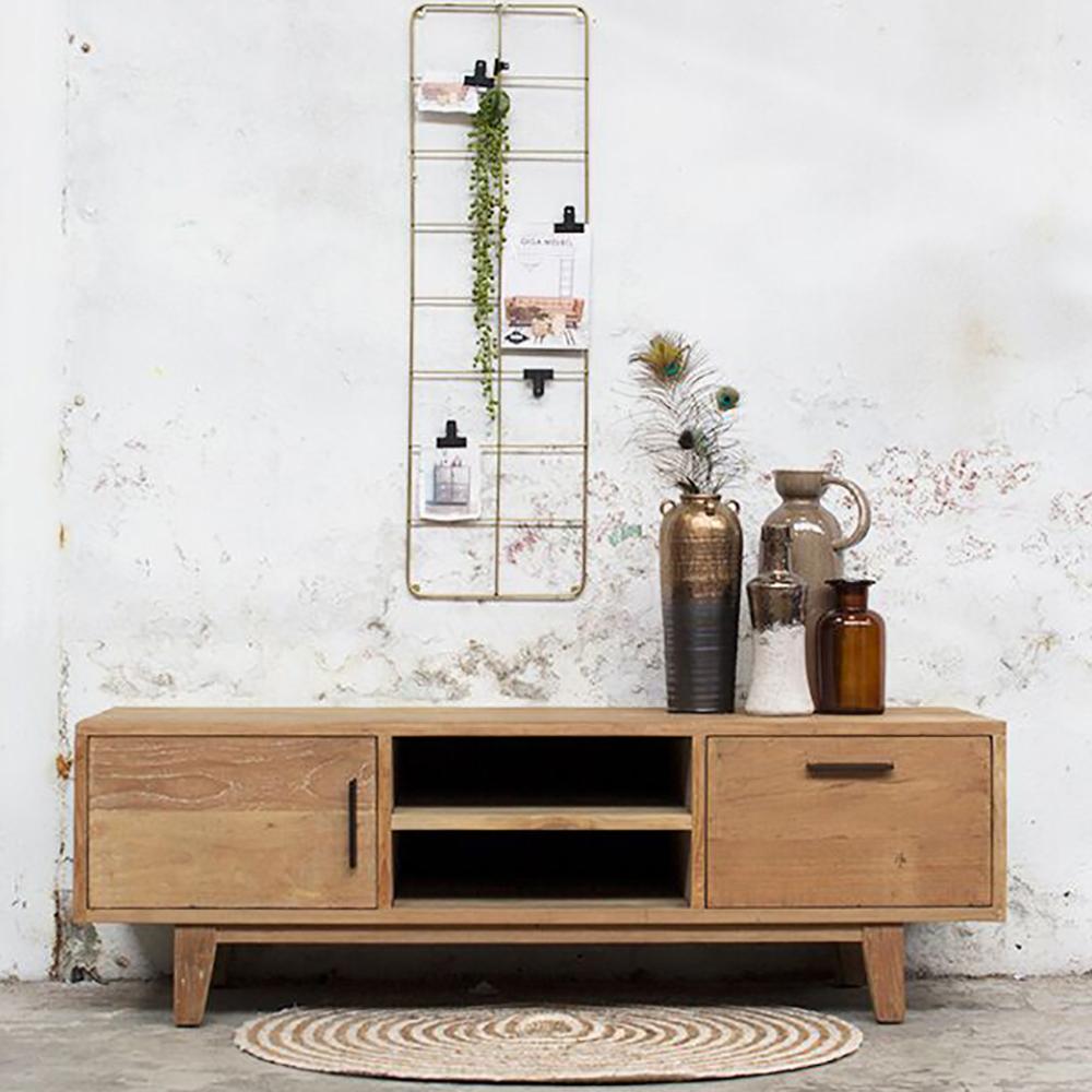 vintage tv m bel rafael tisch fernseh kommode rack board. Black Bedroom Furniture Sets. Home Design Ideas