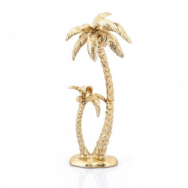 Deko Skulptur Sanka gold Palme