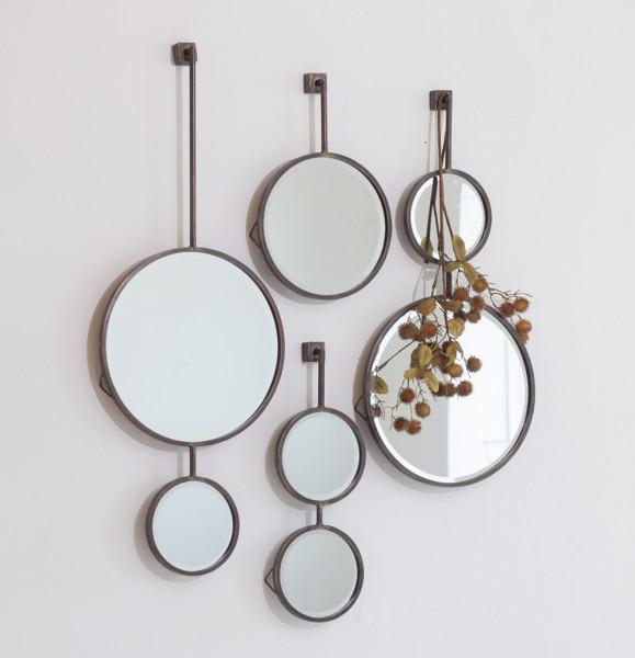 BePureHome Spiegel CHAIN Doppelspiegel antik schwarz