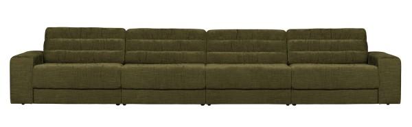BePureHome 4 Sitzer Sofa Date vintage grün Couch
