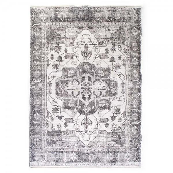 Teppich Alix grau 200 x 290 cm Vintage