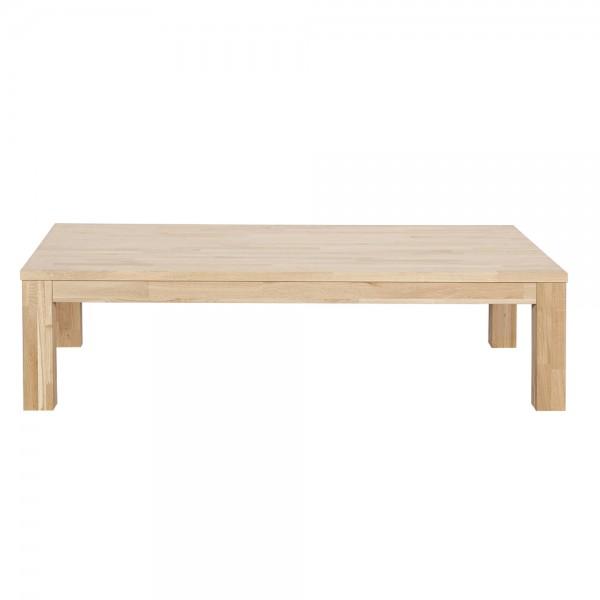 Landhaus Couchtisch LARGO 150 x 85 cm Holztisch Eiche Massivholz Sofatisch Tisch