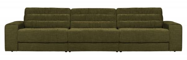 BePureHome 3 Sitzer Sofa Date vintage grün Couch
