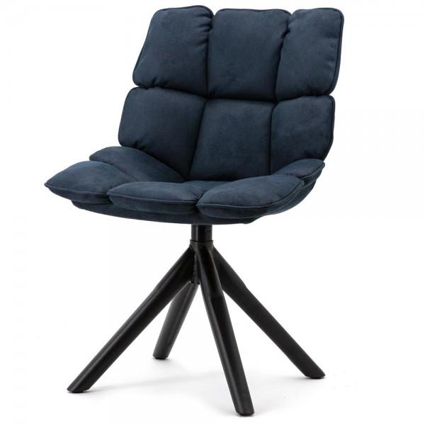 Esszimmerstuhl Daan blau drehbar Drehstuhl Esszimmer Stuhl