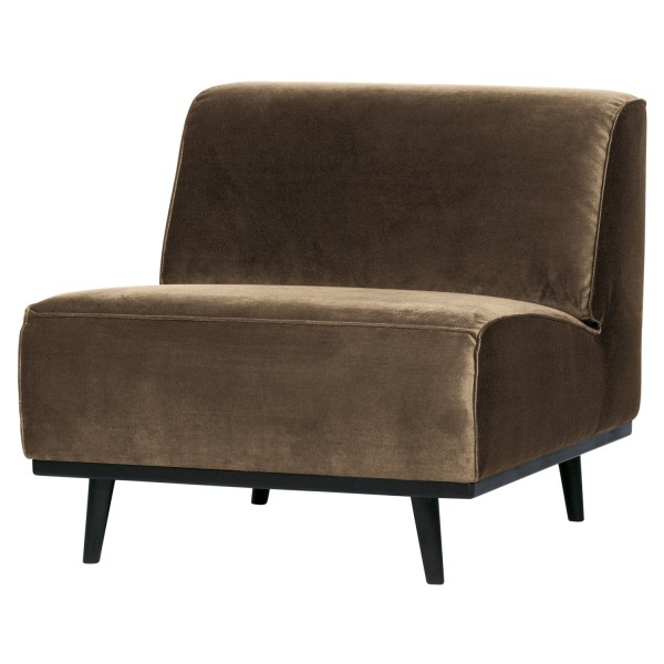 BePureHome Sessel Statement Samt taupe