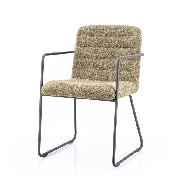 2er Set Armlehnstuhl Artego grün Esszimmerstuhl Stuhl