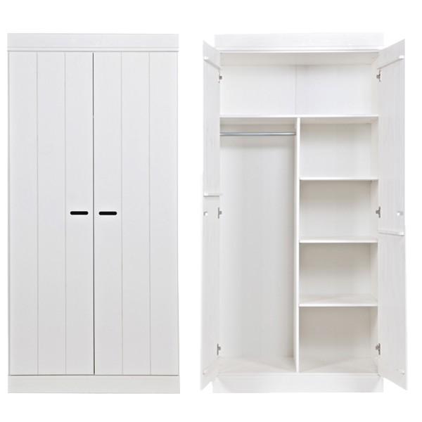 Kleiderschrank System CONNECT BASIC Kiefer 2 Türen