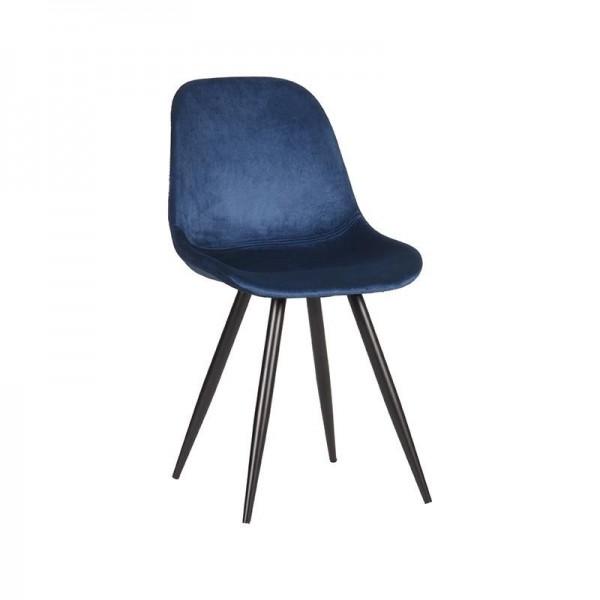 Esszimmerstuhl Capri blau Esszimmer Stuhl